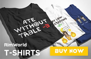 RimWorld T-Shirts